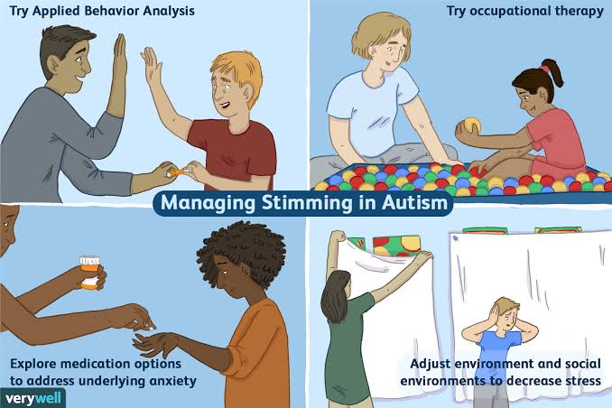 stimming in children with autism